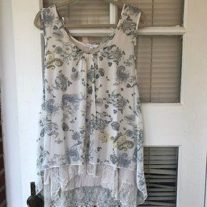 Cleo Sleeveless Fly Away Blouse XXL